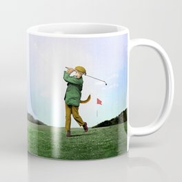 Sir Terrance Terrier Golfing Coffee Mug