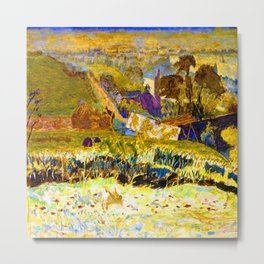 Pierre Bonnard Autumn Morning Metal Print