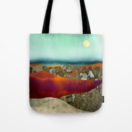 Desert Moon Tote Bag
