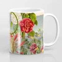 botanical Mugs featuring Botanical by Blue Jean Genie