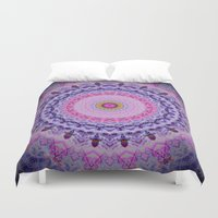 fairytale Duvet Covers featuring Fairytale Kaleidoscope by MIMeyer
