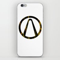 borderlands iPhone & iPod Skins featuring Borderlands by Bradley Bailey