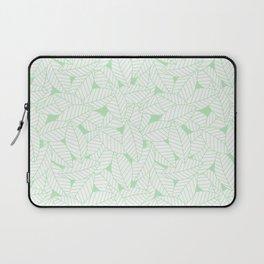 Leaves in Wintergreen Laptop Sleeve