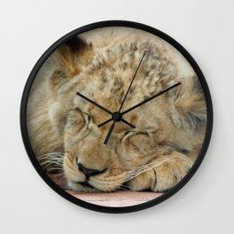 Lion_2014_1202 Wall Clock