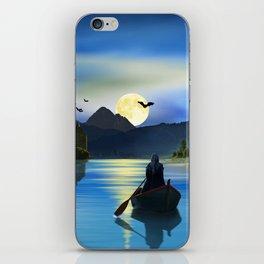 The mystic lake iPhone Skin