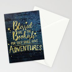 Blessed Bookish Stationery Cards