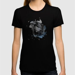 Crow bird art #crow #bird T-shirt