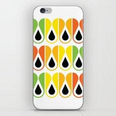 colorful loop pattern iPhone & iPod Skin