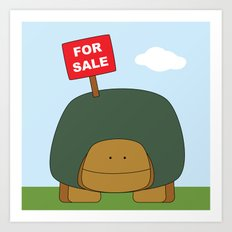 For Sale Art Print