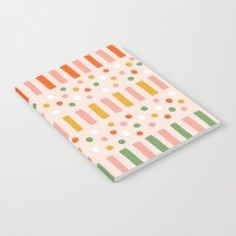 Ruby Stripe Notebook