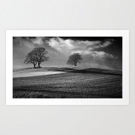 Across the Fields Art Print