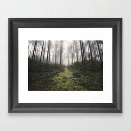 Unknown Road - landscape photography Framed Art Print