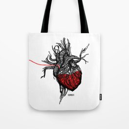Wired Heart Tote Bag