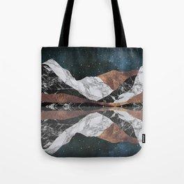 Landscape Mountains Tote Bag