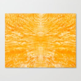 underwater fire, a coral dream of tree branches in orange Canvas Print