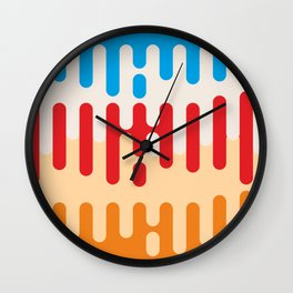 Paint dripping background #society6 #decor #buyart #artprint Wall Clock