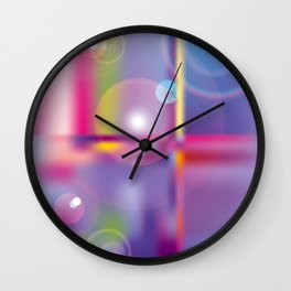 Frosted Glass  Wall Clock