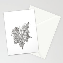 City Rhythm Stationery Cards