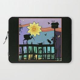 Bayside Sunset Silhouettes Laptop Sleeve