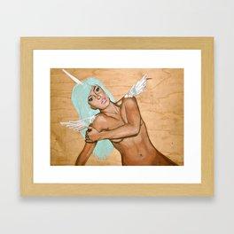 unigirl Framed Art Print
