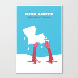 Rise Above the Great Flood Canvas Print