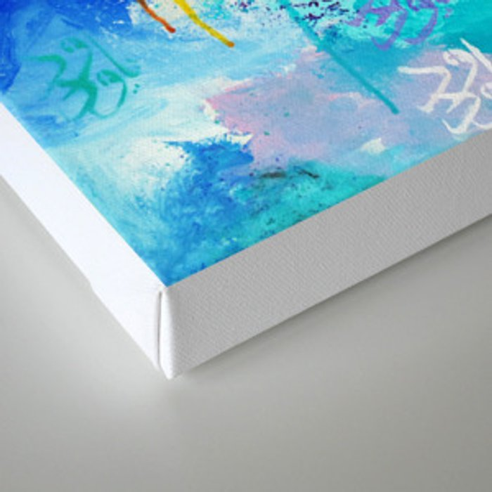 Love is a Give & Take Canvas Print