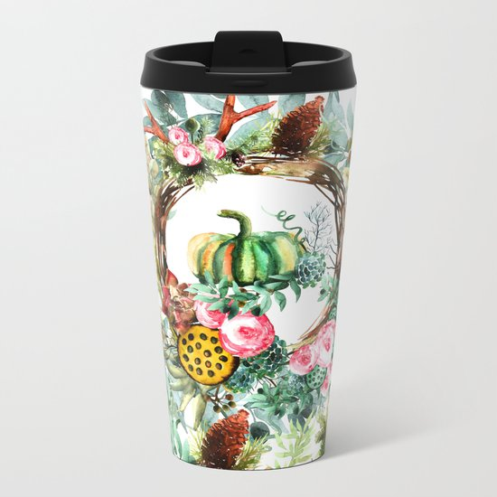 NEW YEAR Metal Travel Mug