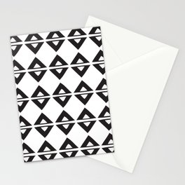 BIG TRIANGLES Stationery Cards