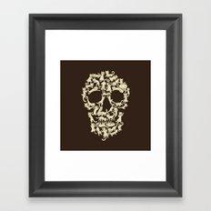 Catskull Framed Art Print