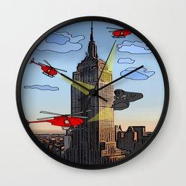 EMPIRE STATE COMIC Wall Clock