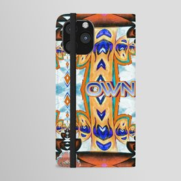 Own Light, a colorful sophisticated pattern iPhone Wallet Case