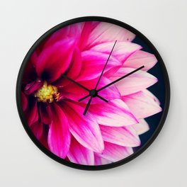Pretty Close Up Wall Clock