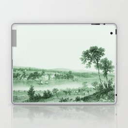 Vintage Lake Champlain  (Green) Laptop & iPad Skin