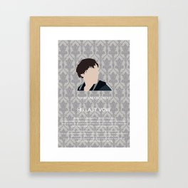 His Last Vow - Sherlock Holmes Framed Art Print