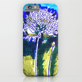 Floral Orchestra 12 [Garlic flowers] iPhone Case