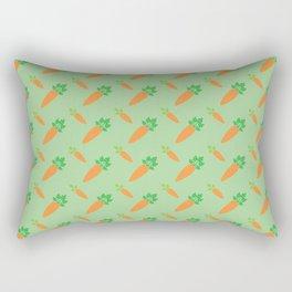 Carrots - Pattern Rectangular Pillow