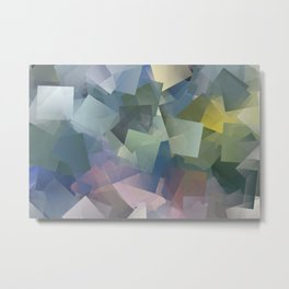 Cubism Abstract 180 Metal Print