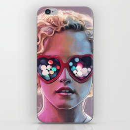 Electrick Girl iPhone Skin