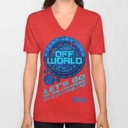 Off World Unisex V-Neck