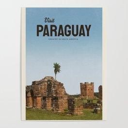 Visit Paraguay  Poster
