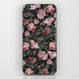 Vintage roses iPhone Skin