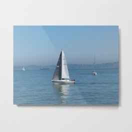 Want to Sail Away With me Metal Print