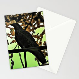 ...  the crow  ... Stationery Cards
