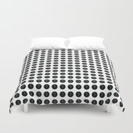 (Overworked) Guardian Angel Polka Dots Duvet Cover