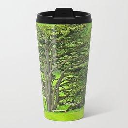 Old English Tree 1 Travel Mug