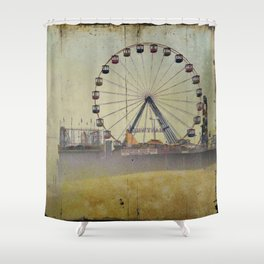 Seaside Heights New Jersey Shower Curtain