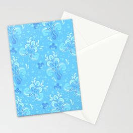 fleur de otachi - light Stationery Cards