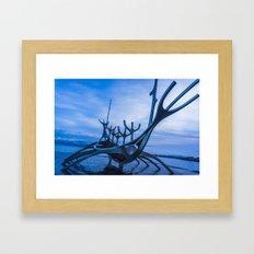 The Sun Voyager Framed Art Print