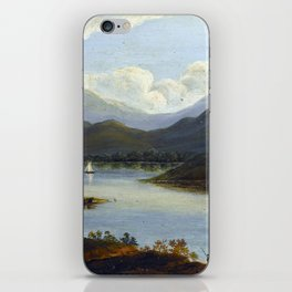 Victor de Grailly Hudson River Scene iPhone Skin