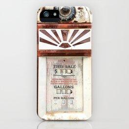Route 66 Gas Pump iPhone Case